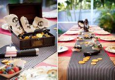 Party by benita Pirate Birthday, Pirate Theme, Boy Birthday, Pirate Decor, Mermaid Birthday, Princess Birthday, Pirate Party Tables, Pirate Cake Pops, Anchor Cookies