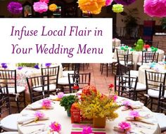 How to bring your destination's culture into your #wedding menu @gaydestweds