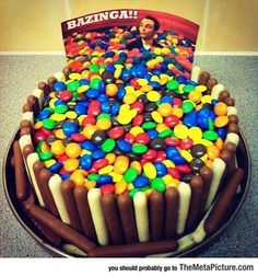 Perfect Sheldon Cake