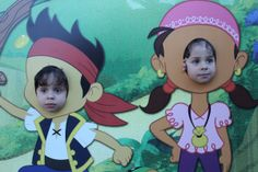 Cute Jake and the Neverland Pirates Photobooth