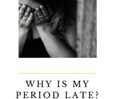 Having a late period causes all sorts of questions in our mind. Even when you know you can't be pregnant, you still question it! When You Know, Knowing You, Hormonal Changes, Blood Test, Menstrual Cycle, Medical Prescription, Natural Supplements, Liking Someone
