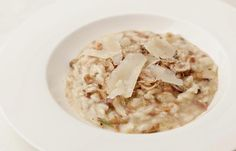 Chestnut risotto by Theo Randall (see the tweaks to make it veggie)