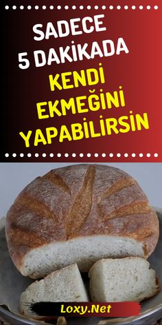 Easy Bread, Turkish Recipes, Homemade Beauty Products, How To Make Bread, Bread Baking, Bread Recipes, Delicious Desserts, Bakery, Food And Drink