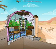 Free downloadable plans for building your own geodome greenhouse from someone…