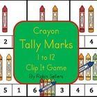 Crayon Tally Mark Clip It