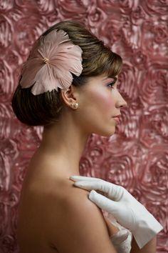 rose. blush. gold. wedding fashion. hat. styling via @Matt Valk Chuah White Dress by the shore. beauty by dd nickel. via Candice Coppola. Photography by Carla Ten Eyck www.carlateneyck.com