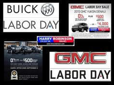Big Labor Day sale going on now thru Sept 3rd on all 2013 #Buick & #GMC in Fort Smith, AR  Come See us!