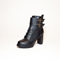 "Fun and Funky ankle #boots with a grippy sole for #winter conditions.  Find ""Raulyn"" at www.steam-boots.ca"