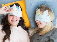 DIY-Anleitung: Einhorn-Schlafmaske selber nähen via DaWanda.com