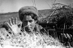 This is the Red Army Female Sniper of World War II