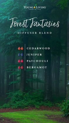 , Home sweet-smelling home: Replace your candles with these 6 diffuser blends , If you don't have wild moors or tangled forests nearby to wander in, you can still get lost in your own whimsical fantasies and daring daydreams with . Juniper Essential Oil, Patchouli Essential Oil, Essential Oil Diffuser Blends, Doterra Essential Oils, Young Living Oils, Young Living Essential Oils, Essential Oil Combinations, Osho, Diffuser Recipes