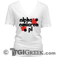 TGI Greek Tshirt - Alpha Omicron Pi - PR Tshirt
