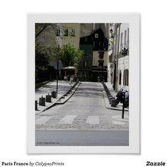 Paris France Poster