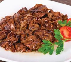 Chicken Liver With Onion Lunch Recipes, Cooking Recipes, European Dishes, Good Food, Yummy Food, Greek Recipes, Diy Food, My Favorite Food, Food Network Recipes