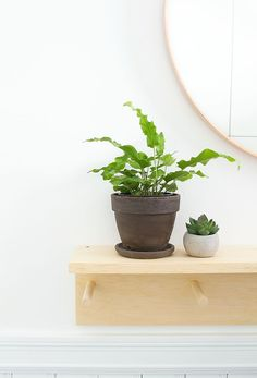Minimal DIY Entryway Coat Rack with IKEA.