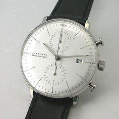 Rakuten: Max Bill BY Yoon Hans JUNGHANS chronoscope self-winding watch watch 027 4600 00 domestic regular article- Shopping Japanese products from Japan