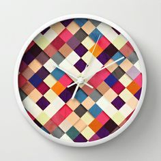 Pass this On II Wall Clock by Danny Ivan - $30.00