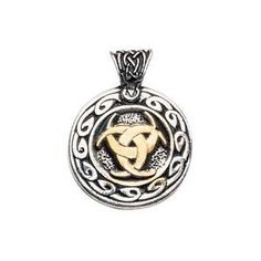 The Valknutr represents Odin's power, while the lunar symbolism stands for Freya, Norse goddess of magic who taught Odin secret skills. This pendant is worn for realising one's dreams.    This Exquisitely Crafted Pendant is highly polished