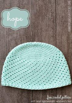 Hope - Womens Hat Oombawka Design Crochet