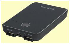 De herlaadbare 5.000 mAh batterij met lange levensduur in de KN-PBANK5000 geeft uw smartphone tot wel 13,5 uur extra gesprekstijd. Het ultra dunne ontwerp van slechts 16,5 mm maakt dit apparaat tot de meest ideale draagbare laadoplossing. http://www.vego.nl/accu/kn-pbank5000/kn-pbank5000.htm
