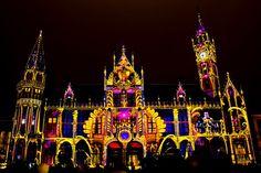 Lichtfestival Gent Tijdens dit festival licht de stad op met werk van internationale lichtkunstenaars.