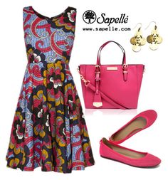 We are loving Pink today... Would you wear this carnival theme look? by sapellestyle