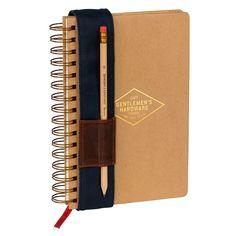 Gentlemen's Hardware Notebook | Wild & Wolf -  Bloomsbury Store - 1