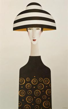 Danny McBride, artist, original acrylic paintings at White Rock Gallery Amedeo Modigliani, Danny Mcbride, Watercolor Projects, Illustration Art, Illustrations, Kindergarten Art, Arte Pop, Woman Painting, Pictures To Paint