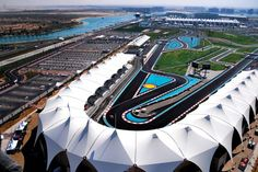 Yas Marina Circuit, #AbuDhabi, #UAE If I could I would follow the F1 schedule around the world.