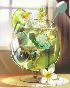 """kagamine len and kagamine rin (vocaloid) drawn by hmniao "" Anime Love, Anime Girl Cute, Cute Anime Couples, Anime Art Girl, Manga Art, Anime Girls, Len Y Rin, Kagamine Rin And Len, Kaito"