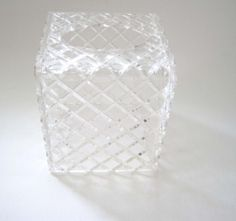 Vintage 1960s Wilardy Clear Lucite Diamond by SharetheLoveVintage, $25.00