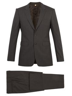 BURBERRY Millbank slim-fit wool suit. #burberry #cloth #