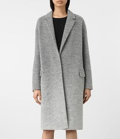 Womens Sancia Ricci Coat (Pale Grey) - product_image_alt_text_2