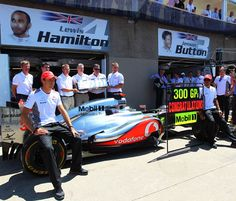 F1 Canadian GP - McLaren celebrate 300 races with Mobil 1 as its oil supplier