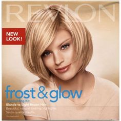 Revlon Frost & Glow Blonde Highlighting Kit Blonde To Light Brown Hair 1 Application: Amazon.co.uk: Health & Personal Care