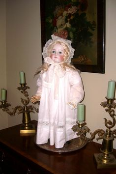 Antique doll by Kestner.