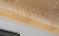 perforated acoustic suspended ceiling panels