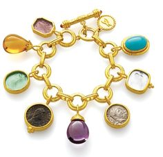 When it comes to charm bracelets, Elizabeth Locke makes some of the most beautiful ones. True heirlooms.
