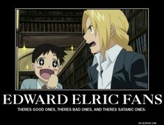 Image result for Edward Elric is a runt