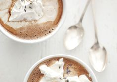 lavender hot chocolate by {this is glamorous}, via Flickr