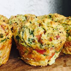 Bacon, cheese and zucchini muffins – Baker Lou Street Bacon Zucchini Muffins, Cheese And Bacon Muffins, Zucchini Cheese, Savory Muffins, Healthy Muffins, Brunch, Sweet Chilli, Cooking Recipes, Vegetarian Recipes