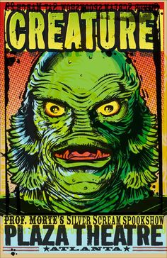 Spook Show Poster (ATLANTA)