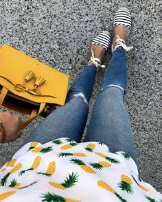 Love this top with pineapples.