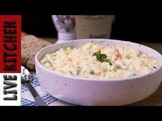 #2 Πως να φτιάξετε Ρώσικη Σαλάτα (Νηστίσιμη ή Αρτύσιμη)How to make Russian Salad Amazing recipe - YouTube Kitchen Living, Potato Salad, Potatoes, Vegan, Cooking, Ethnic Recipes, Food, Food Recipes, Salads