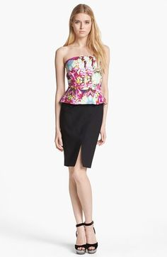 Rachel Roy 'Orchid Abstract' Stretch Cotton Sheath Dress available at #Nordstrom