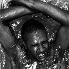 Drowning pt 2 by Alban Grosdidier, via Behance