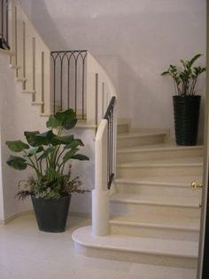 Scala marmo Bianco Asiago
