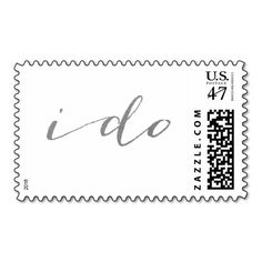 CHIC SILVER I DO POSTAGE