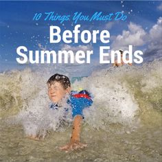10 Things You Must Do Before Summer Ends #ad http://www.surfandsunshine.com/things-you-must-do-before-summer-ends/?utm_campaign=coschedule&utm_source=pinterest&utm_medium=Surf%20and%20Sunshine&utm_content=10%20Things%20You%20Must%20Do%20Before%20Summer%20Ends #123kidsgofree