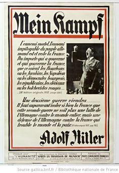 Mein Kampf. L'ennemi mortel, l'ennemi impitoyable du peuple allemand... : [affiche] / [non identifié] - 1